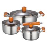 奥罗拉不锈钢三件套产品-KG2148TZ3