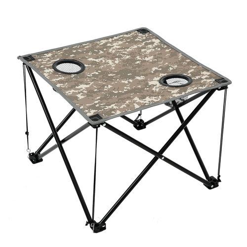 便携式户外折叠桌-展开尺寸46*46*38cm