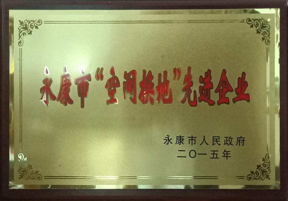 """永康市""""空間換地""""先進企業"""