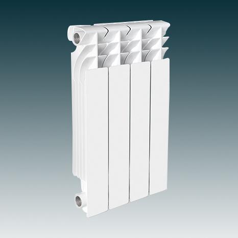 纯铝合金高压铸铝散热器-LS-IO500/85-2