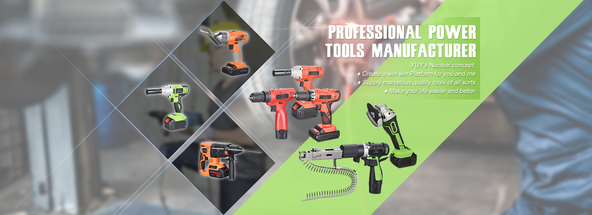 PROFESSIONAL POWER TOOLS MANUFACTURER