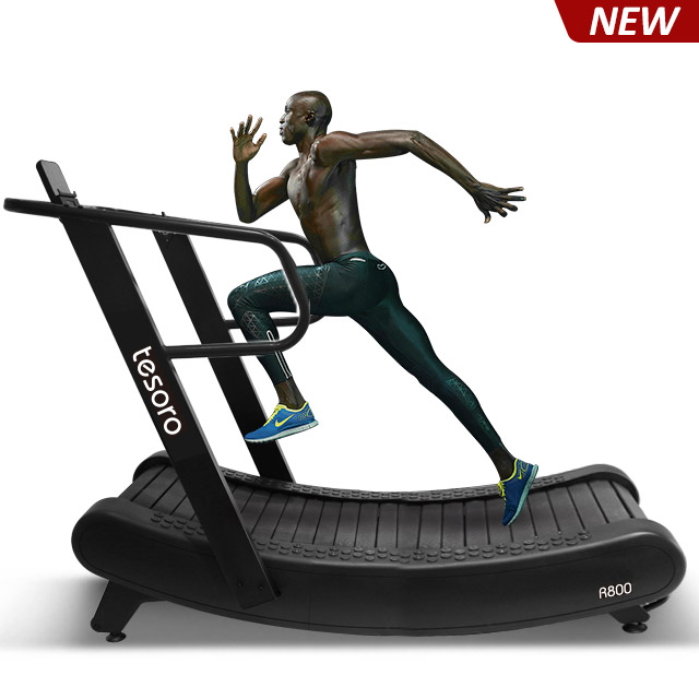 2019 new non-motorized curved treadmill no maintance required just like running outside R800