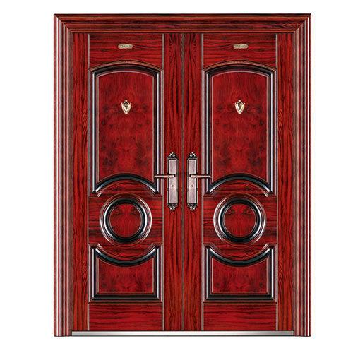 钢质室内门-龙韵对开门