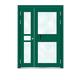 楼宇门-6012A号框(星际绿氟碳漆门)