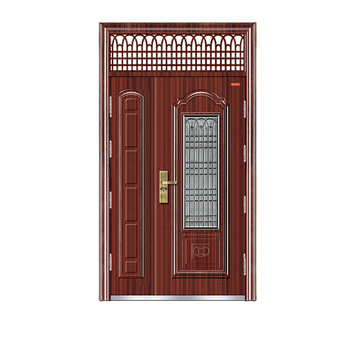 非标门-LY-12-025 钢窗门中门