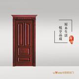 龙阳原木门 -LY8133