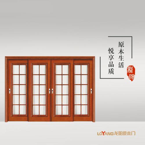 龙阳原木门-LY8903
