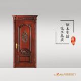 龙阳原木门 -LY8136