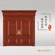 龙阳原木门-LY8101