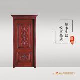 龙阳原木门 -LY8135