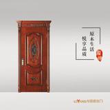 龙阳原木门 -LY8129