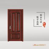 龙阳原木门 -LY8330