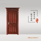 龙阳原木门 -LY8107