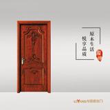 龙阳原木门 -LY8309