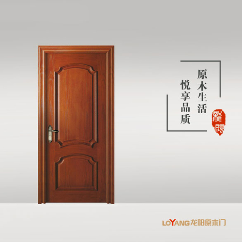 龙阳原木门-LY8331