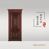 龙阳原木门 -LY8140