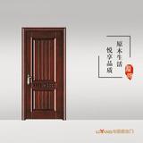 龙阳原木门 -LY8305