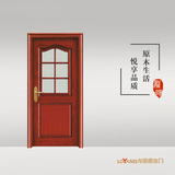 龙阳原木门 -LY8703