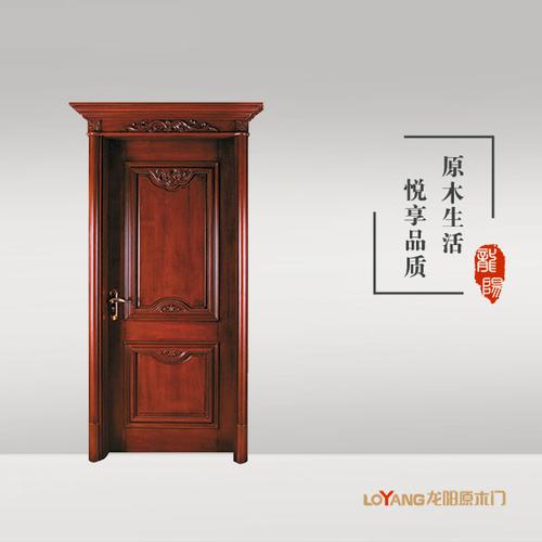 龙阳原木门-LY8108