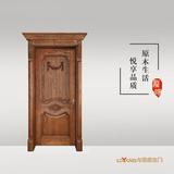 龙阳原木门 -LY8115