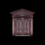 不銹鋼銅門-LW-611