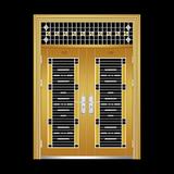 四類花黃鈦金 -LW-3029