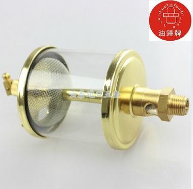 中国总代理正品台湾油钟牌OIL BELL 针阀式注油杯 亚克力材质铜合金OC-102-OC-102