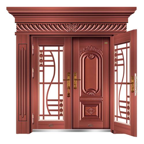 HMH-1891复合门真红铜-HMH-1891
