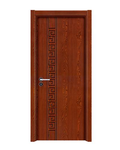 强化烤漆门-HM-6103(浮雕铁红)
