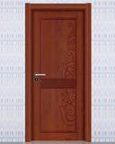 强化烤漆门 -HM-6101(欧洲胡桃同步浮雕)