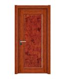 强化烤漆门 -HM-6102(盛世杜丹同步浮雕)