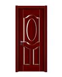 强化烤漆门 -HM-6322(红木)