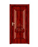 强化烤漆门 -HM-6507(经典红木)