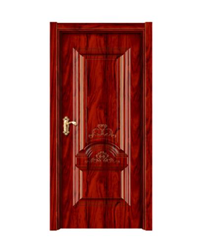 强化烤漆门-HM-6507(经典红木)