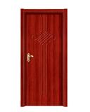 强化烤漆门 -HM-6510(红拼木)