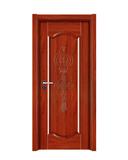 强化烤漆门 -HM-6316(红檀)