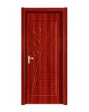 强化烤漆门 -HM-6502(红拼木)