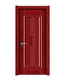 强化烤漆门 -HM-6305(大红木 反凸)