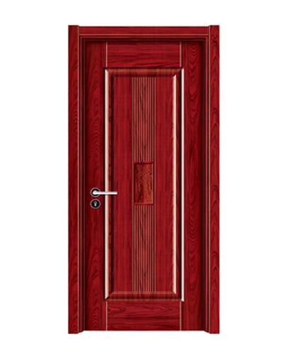 强化烤漆门-HM-6305(大红木 反凸)