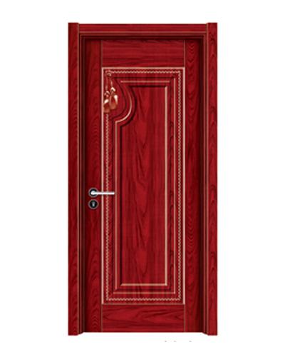 强化烤漆门-HM-6319(大红木)