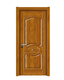 强化烤漆门-HM-6303(新黄柚 反凸)