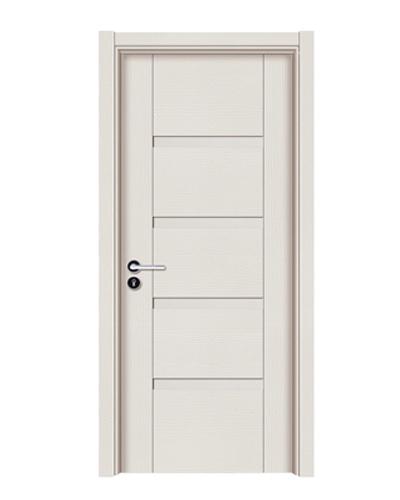 强化烤漆门-HM-6205(暖白小浮雕)