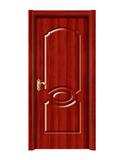 强化烤漆门 -HM-6501(红拼木)