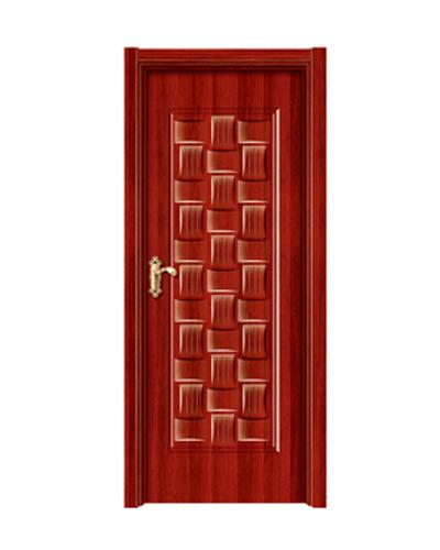 强化烤漆门-HM-6509(红拼木)