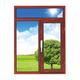 铝木门窗-HMLM-913
