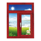 铝木门窗-HMLM-923