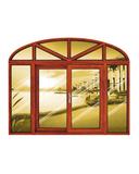 铝木窗 -HMLM-925