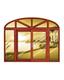 铝木窗-HMLM-925