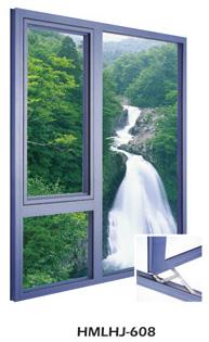 铝合金固定窗-HMLHJ608