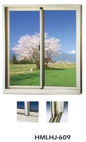 铝合金推拉窗-HMLHJ609
